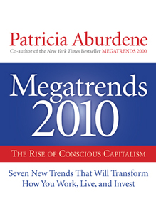 MEGATRENDS 2010 book cover