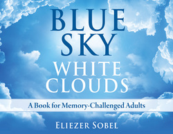BLUE SKY WHITE CLOUDS BOOK COVER