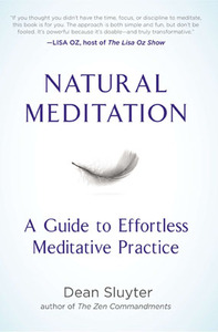 NATURAL MEDITAION book cover